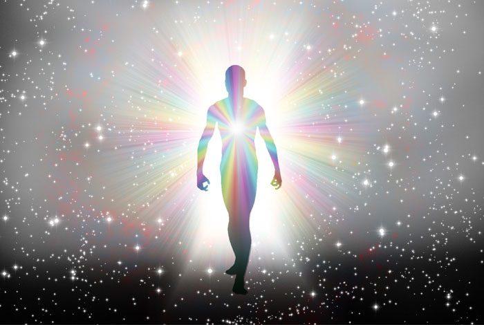 Man with aura